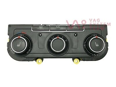 VW T5 T6 Climate Control Panel Heater Controls Air Conditioning 7E0907047AC /#61
