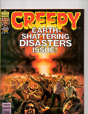 Creepy Earth Shattering Magazine Of Contemporary Fantasy And Horror Stories No99