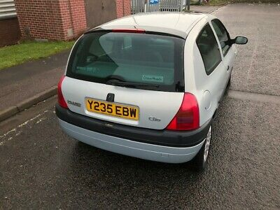 2001 Renault Clio 1.2  Only 29000 Miles 1 Owner From New