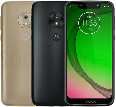 "Motorola Moto G7 Play XT1952-1  DUAL SIM (FACTORY UNLOCKED) 5.7"" 32GB 2GB 13MP"