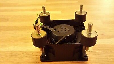 COOLING FAN 240v with rubber mounts, for tube/valve guitar amplifier etc
