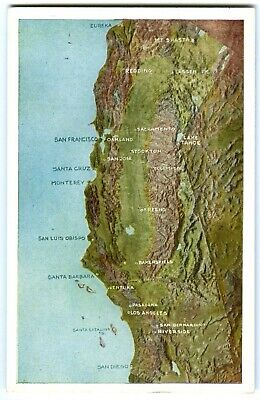 California Points Of Interest Map on