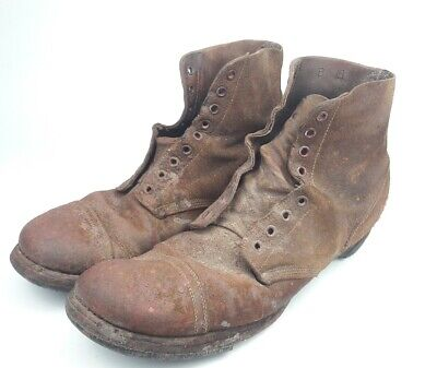 Shoes Service Type III US Brodequins WW2