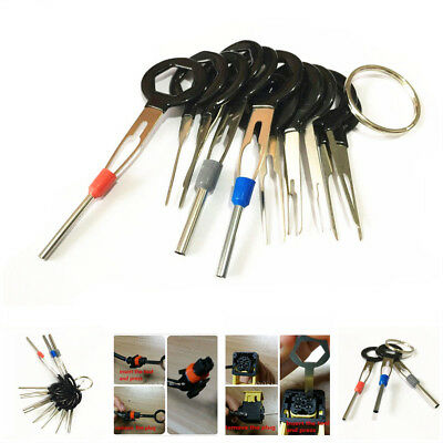 11pcs Wiring Connector Extractor Car Terminal Pin Removal Puller Release Tool
