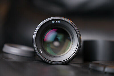 Sony SEL 85mm f/1.8 FE Portrait Lens Perfect Condition Incredibly Sharp