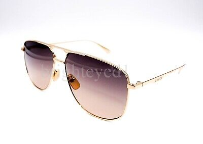 7078718bb85 GUCCI GG0336S GOLD BROWN Shaded (001 ZQ) Sunglasses -  239.00