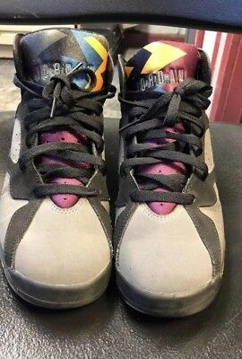 super popular 1a529 2a69c Air Jordan Retro VII 7 Bordeaux 2011 size 6.5 Raptors Cool Grey BIN CDP DMP
