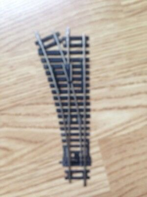 HORNBY~ R8072~Left Hand~Nickel Silver Point~OO Gauge Track~Very Good Condition