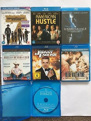 The Magnificent Seven , Unbreakable Blu Ray Bundle