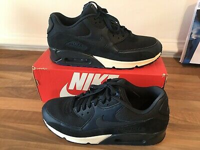 finest selection 62096 d2982 Nike Air Max 90 Essential Navy Blue Rare UK 10 Worn Once Not 95 97 Tn