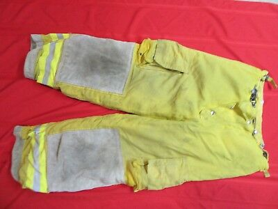 CAIRNS Turnout PANTS 34 x 28 FIREFIGHTER FIREMAN BUNKER GEAR GLOBE LION APPAREL