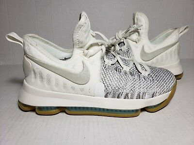 838e90c4710 NIKE ZOOM KD 9 Elite Kevin Durant (GS) Pale Grey Ivory Youth 855908 ...