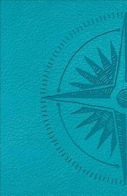 Csb Heart of God Teen Study Bible Teal, Compass Design Leathertouch Free Shippin