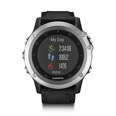 Garmin Fenix 3 HR - Multi Sport GPS Watch - with Built-in HEART RATE MONITOR