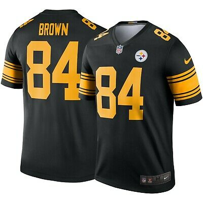 huge discount 9f3f7 fd022 NIKE MEN'S COLOR Rush Pittsburgh Steelers Antonio Brown #84 ...