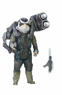 Biston 2017 Rebel & Missle Launcher Figure Rogue One Star Wars .LOOSE & COMPLETE