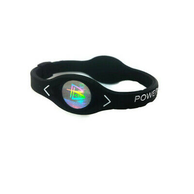 Power Energy Bracelet Sport Wristbands Balance Ion Magnetic Therapy Silicone