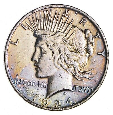 Better - 1924 - Peace Silver Dollar - 90% US Coin *934