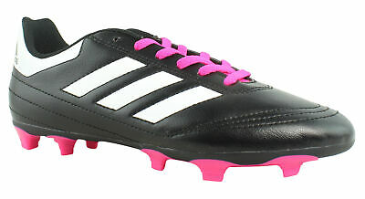 new concept e3bee 4caf1 Adidas Womens Goletto Vi Black White Shopin Soccer Shoes Size 5