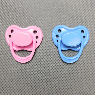 Pink Blue Dummy Magnetic Pacifier For Reborn Baby Internal Magnet Dolls Supplies