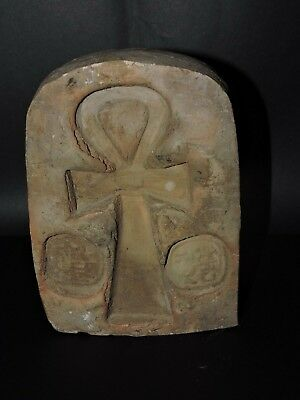 RARE ANCIENT EGYPTIAN ART ANTIQUES Ankh Key of Life EGYPT STONE BC