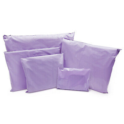 Purple Strong Mailing Parcel Postage Plastic Post Poly Bags Self Seal Cheap