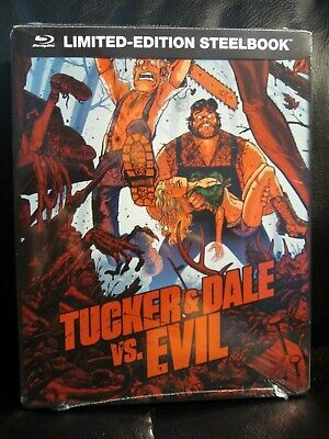 Tucker and Dale vs Evil Blu-Ray Steelbook New Mint Sealed Versus Horror &