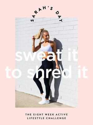 ❤️ Sweat it to Shred it - Sarah's Day INSTANT DELIVERY