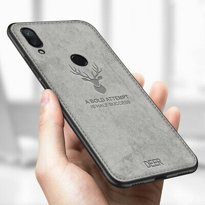 For Xiaomi Redmi Note 7 Hybrid Soft TPU Leather Case Shockproof Matte Back Cover
