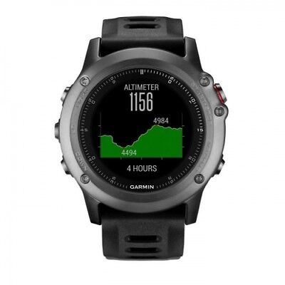 Garmin Fenix 3 Multi Sport Triathlon GPS Watch Running Biking Swimming Hiking