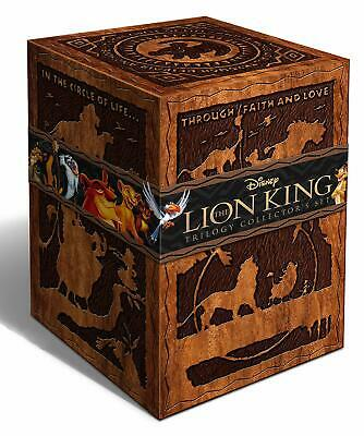 The Lion King Trilogy Blu-ray/DVD/3D 8-Disc Box Set RARE OOP Special Edition