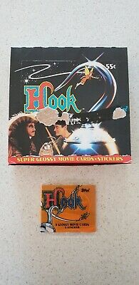 Hook old new sealed trading cards 1991 36x packs per box Topps