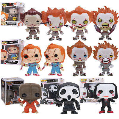 Funko Pop Film Child's Play/Saw/Scream/V for Vendetta Figures Modello Giocattoli