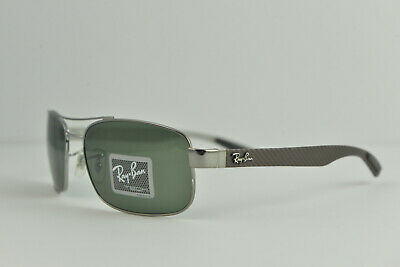 e4602aa6ef7 AUTHENTIC RAYBAN RB 8316 Carbon Fiber w  Logos Replacement Temples ...