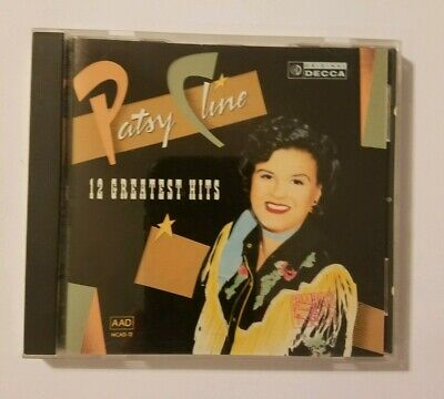 12 Greatest Hits by Patsy Cline (CD, Feb-1988, MCA) BMG