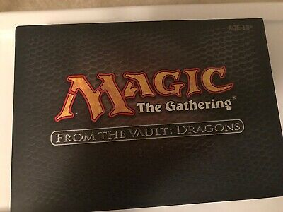 From The Vault Dragons Sealed MTG Magic the Gathering NEW
