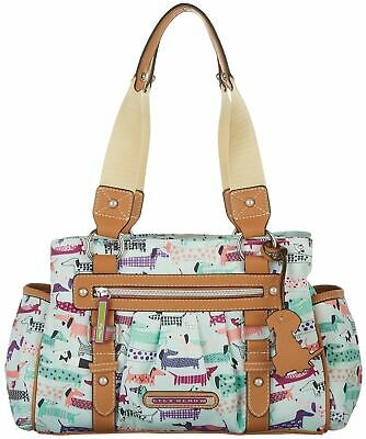 NWT Lily Bloom Landon Triple Section Satchel Totally Paw Some Dachshund HTF