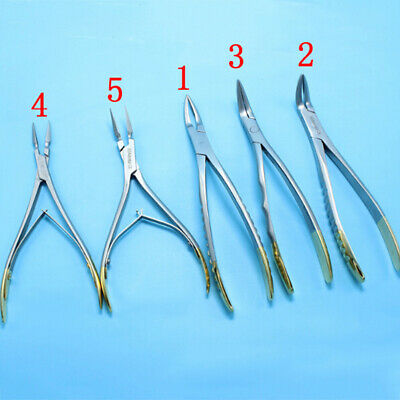 Dental upper lower tooth root extraction forceps surgical extracting plier tool-