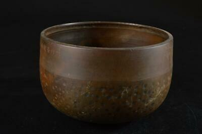 G7825: Japanese Old Copper BUDDHIST BELL Orin, Buddhist altar fittings