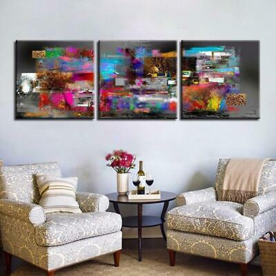 Color Abstract Canvas Wall Art Decor of Creative and Modern Art