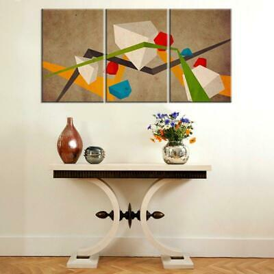 Geo Abstract Canvas Wall Art Decor of Creative and Modern Art