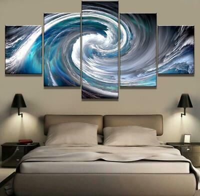 Waves Abstract Canvas Wall Art Decor of Creative and Modern Art