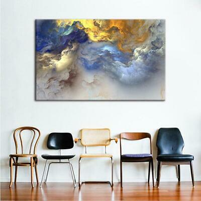 Color The Clouds Canvas Art Print for Wall Decor Painting