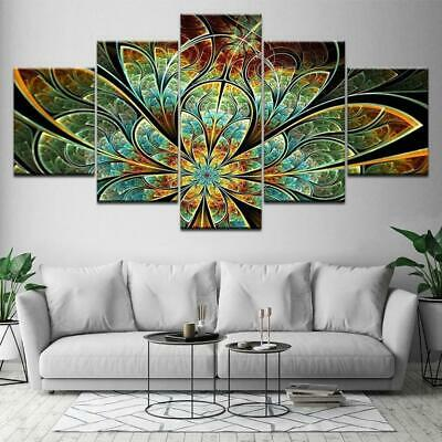 Flower Pattern Canvas Art Print for Wall Decor Painting