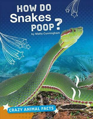 How Do Snakes Poop? by Malta Cunningham Hardcover Book Free Shipping!