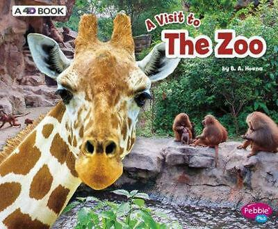 The Zoo: A 4D Book by Blake A. Hoena Hardcover Book Free Shipping!