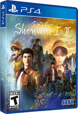 Playstation 4 - Shenmue I and Ii (ps4) [DE-Version] Playstation  NEU