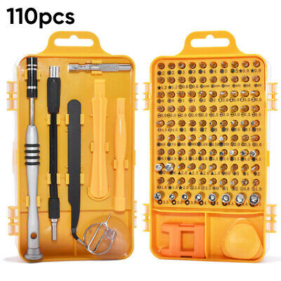 110-In-1 Precision Screwdriver Tool Set For Smartphone Clock Glass Repair Tool