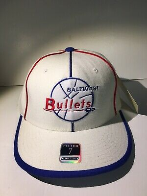 3f8c14f5 Brand New! With Tags - Baltimore Bullets Hardwood Classics Fitted Hat Size 7