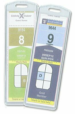Cruisetags NARROW Cruise Ship Luggage Tags (8 Pack) Free Shipping